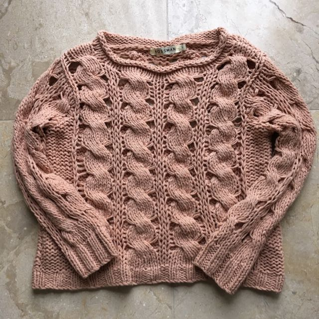 Mossman Chunky Knit
