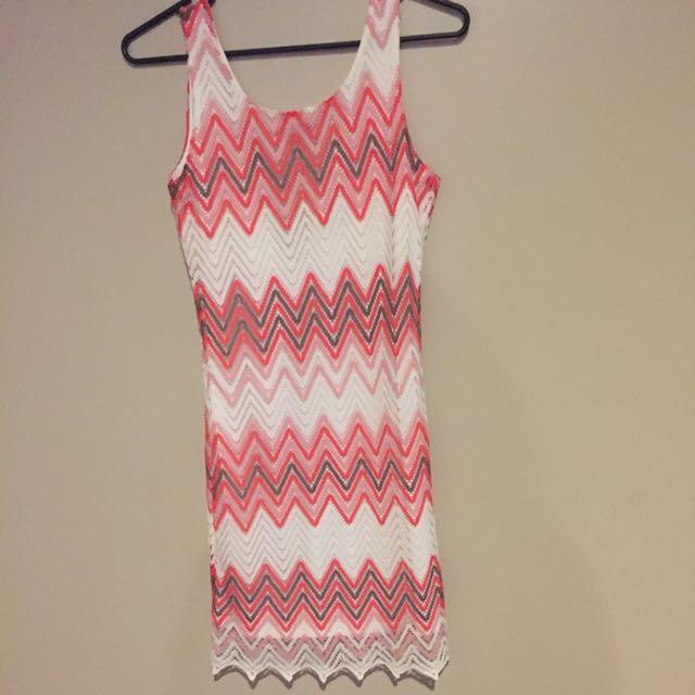 Paper Scissors Dress Size L