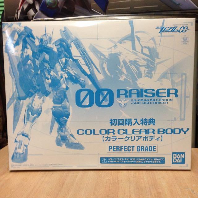鋼彈 PG 1/60 OO Raiser 透明組件 BANDAI 初回購入特典(不含本體)