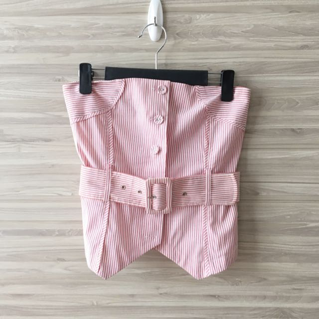 Pre loved Bysi Button Down Tube Top