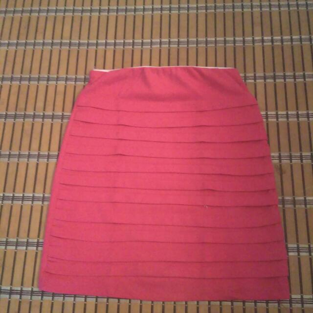 Preloved Pink Skirt