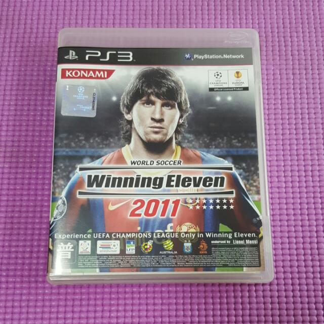 Ps3二手片 世界足球競賽2011