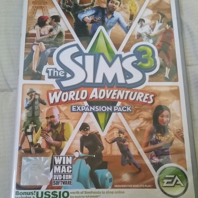 Sims 3:World Adventures Expansion Pack