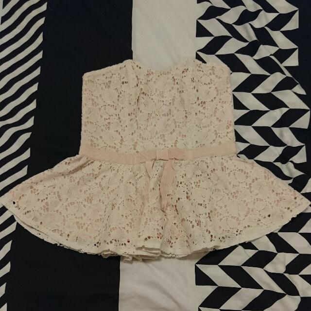 Size 8 Cute Flared Top