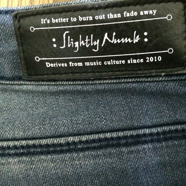 Slightly Numb LOT.1440-02 彈性丹寧褲