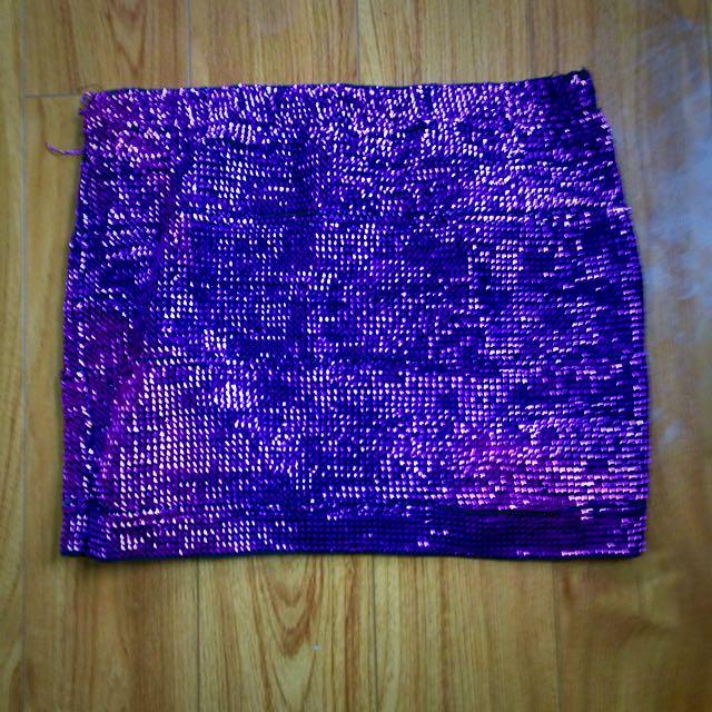 Sparkly Purple Mini!