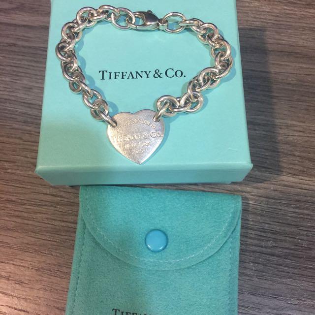 Tiffany 愛心手鍊