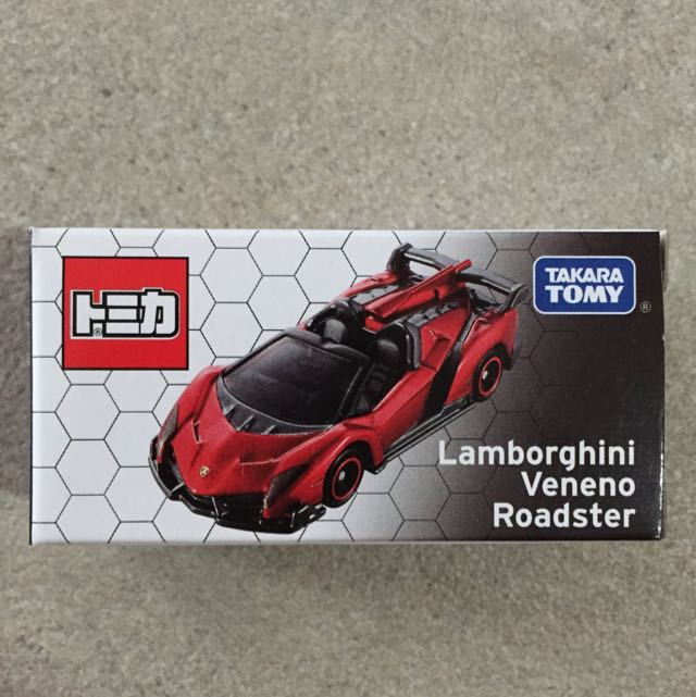 Reserved Tomica Not For Sale Lamborghini Veneno Roadster Limited