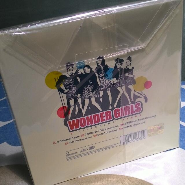 Wonder Girls two different tears album