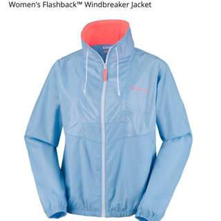 100% real Columbia Women's Flashback Windbreaker jacket