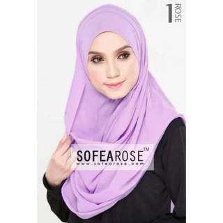 SofeaRose Rose Shawl Instant Shawl