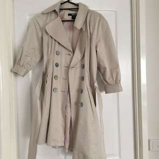 DKNY Genuine Tench Coat XS