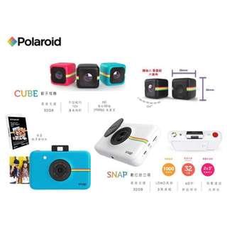 【Polaroid CUBE 迷你骰子運動攝影機】
