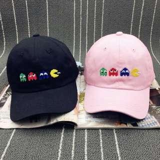 韓版小精靈刺繡老帽