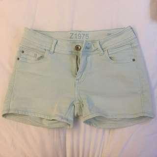 Zara 單寧短褲