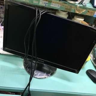 三隻鳥19吋螢幕 無HDMI 沒盒子