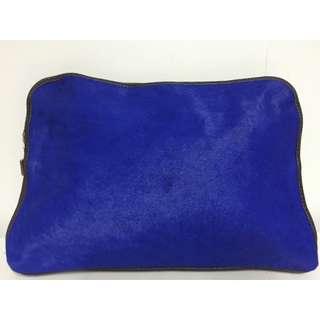 Louenhide Martina Pony Electric Blue Clutch