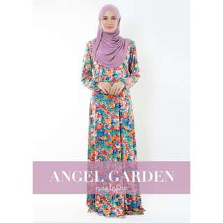 Authentic Naelofar Angel Garden Abaya