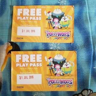 Polliwogs Ticket (2 nos)