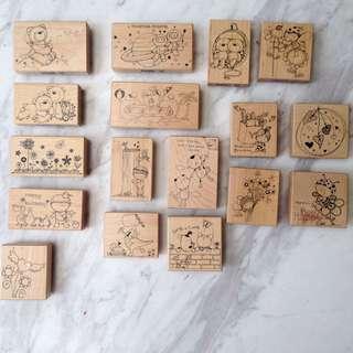 楓木木頭印章/貝登堡/手工藝