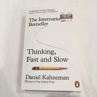 Thinking, Fast And Slow Book