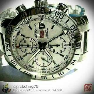 Chopard Chronometer (not Rolex, Brietling, omega, tag heuer, seiko,casio,u boat, panerai,sevenfriday, cartier, dietrich, corum, AP, PP)