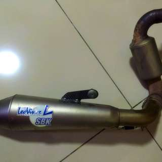 SBK Exhaust For Ktm Duke 200