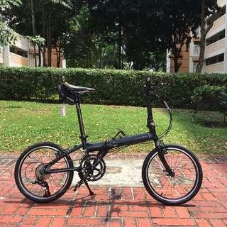 *INSTOCK* New Dahon VITESSE P18 Folding Bike Stealth Black (Fully Litepro Upgraded)