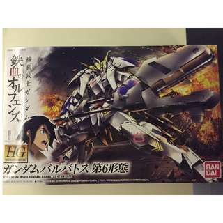 HG 1/144 Gundam Barbatros 6th Form
