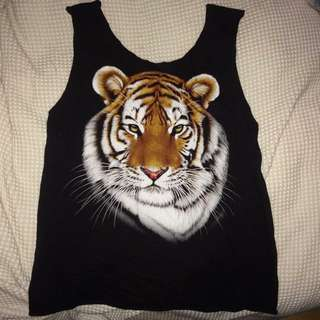 Miss Brown Vintage Tiger Tank