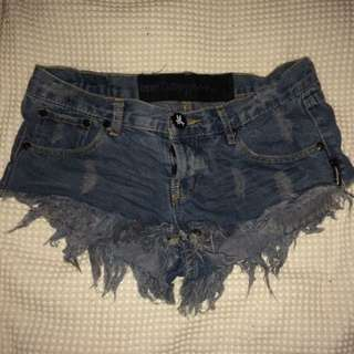 One Teaspoon Distressed Shorts