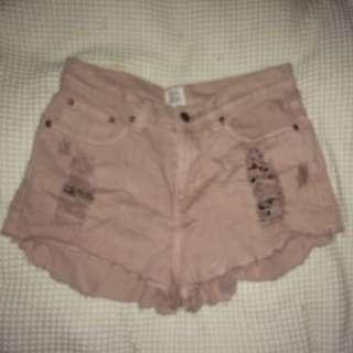 Some days Lovin High Waisted Shorts