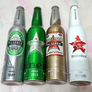海尼根140年紀念空瓶