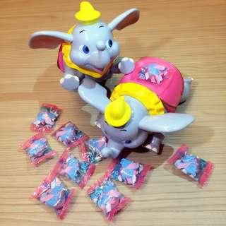 東京迪士尼小飛象糖果罐