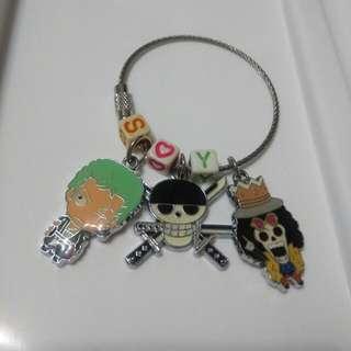 多款 海賊王 鑰匙圈