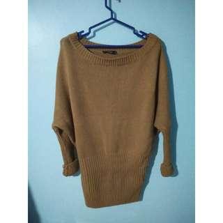 [二手]咖啡色毛衣
