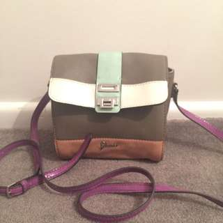 Multicoloured Authentic Guess Side Bag
