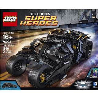 Tumbler Lego Batman Super Heroes 76023 Sealed New