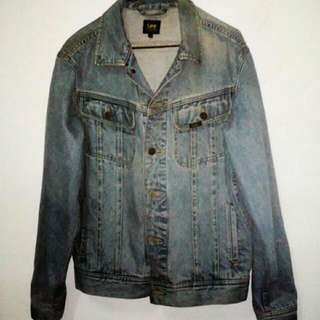⭐(Incl. Deli) Original USA LEE JEANS American Jacket Premium Quality Biker Gangster NEW (Incl. Delivery)