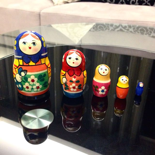俄羅斯娃娃五件組