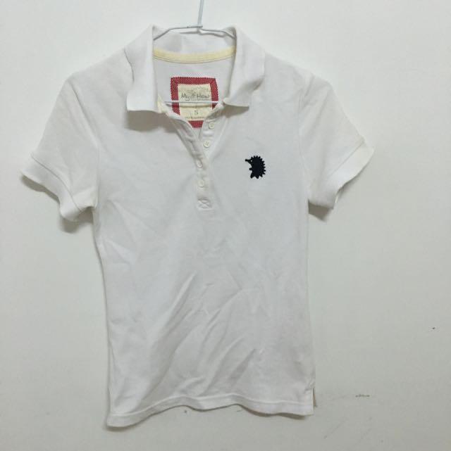純白色襯衫