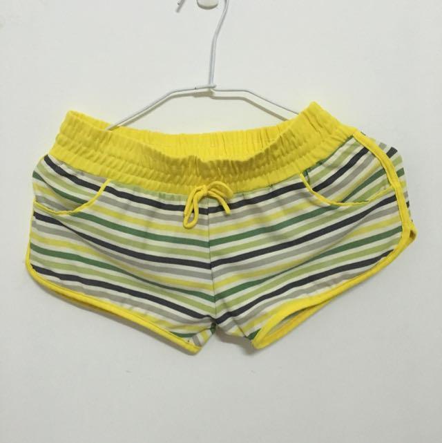 泳衣材質的海灘褲