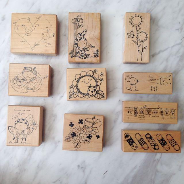 楓木木頭印章/手工藝/貝登堡