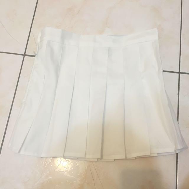 白 百褶裙(全新)