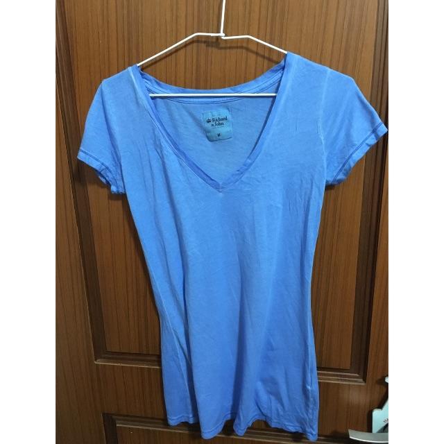 [全新求出清] 蔚藍短袖