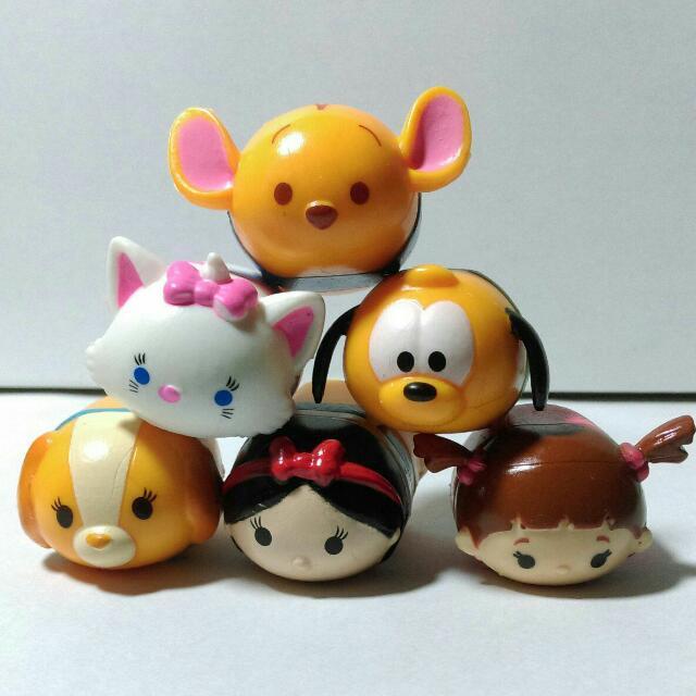迪士尼 Tsum 疊疊樂 白雪公主 流氓與小姐 布魯托 維尼 Disney