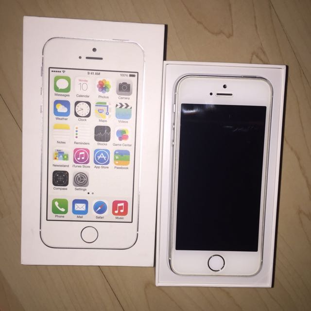 (保留中)Apple I phone 5s 16G 銀色女用機