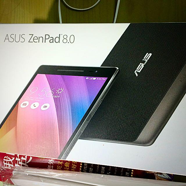 ASus Zenpad 8 (Z380KL)白色 再送全新高級外殼