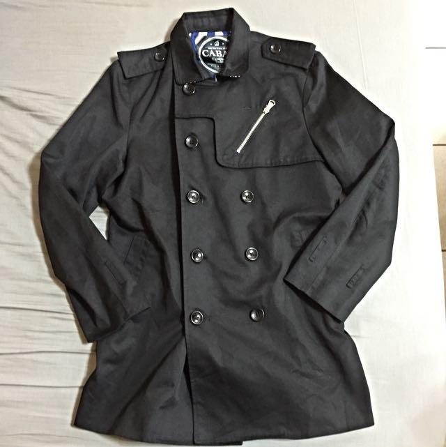 Cabal 西裝風衣長版外套