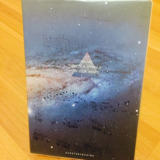 Galaxy Beauty Designer Notebook